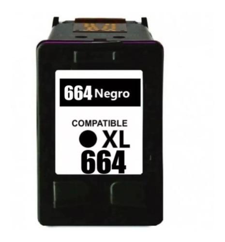 Cartucho Alternativo Hp 664 Xl Negro Bgui