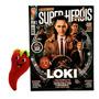 Revista Mundo Dos Super heróis Loki A Nova Série N° 131