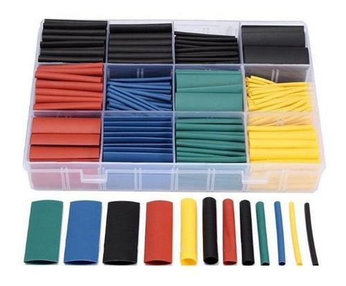 Tubos Termo-encogibles De Colores. Kit Por 530