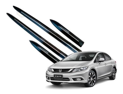 Jogo Friso Lateral Honda Civic G10 2017 A 2020 Todas Cores