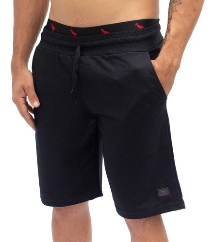 Kit 5 Bermuda Moleton Shorts Academia, Atacado Nf  Full
