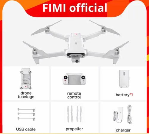 Fimi X8se 2020 Câmera 4k Quadcopter 3 Eixos Novo Lacrado