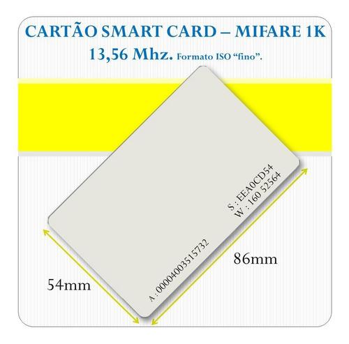 Cartão Mifare 13,56 Mhz, Para Relógio Ponto E Acesso. Original