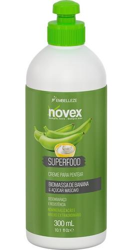 Creme Para Pentear Novex Superfood Biomassa Banana E Açúcar