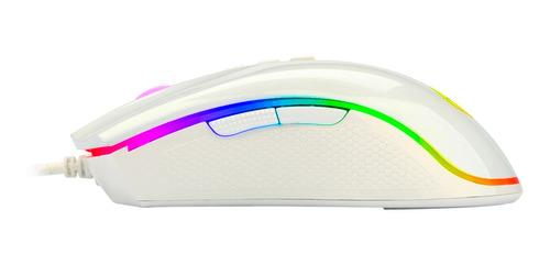 Mouse De Juego Redragon  Cobra White M711-w White