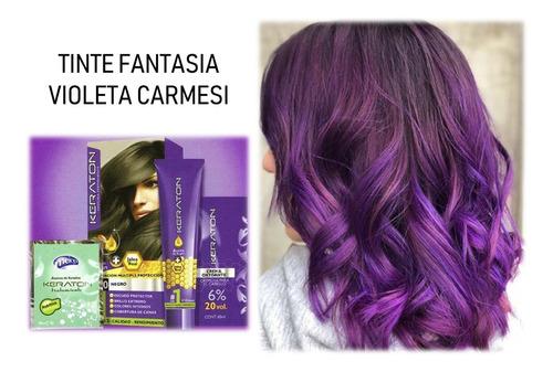 Tinte Keraton Violeta Carmeli Fantasia - L a $165