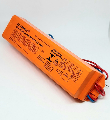 Reator Eletrônico Fluorescente T8 2x16w Afp Bivolt Osram