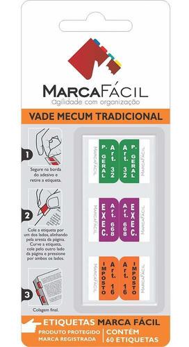 Etiquetas Vade Mecum E Clt Marca Fácil Matérias
