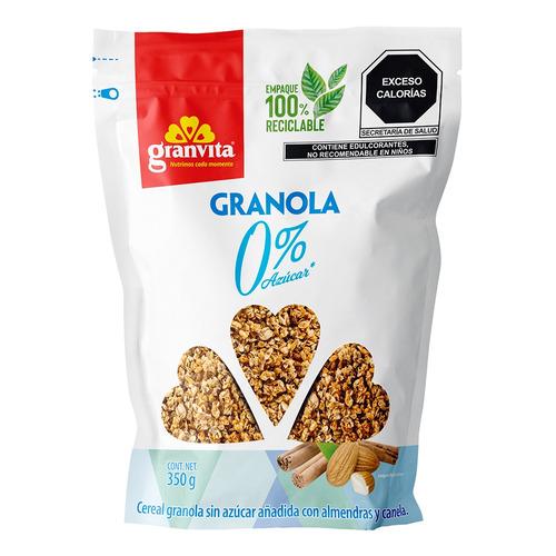 Granola Granvita 0% Azúcar En Bolsa 350g