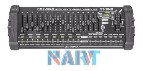 Mesa Dmx-384b Controle Operator Profissional Iluminação 32ch
