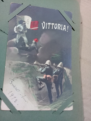 Tarjetas Postales 1913 Vittoria Guerra  158 Postales Y Album