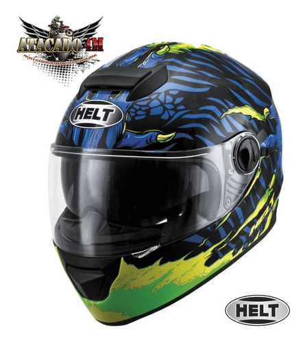 Capacete New Race Class Moster