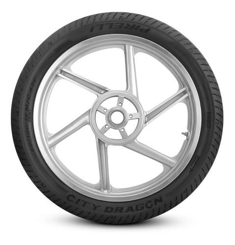 Cubierta Trasera Para Moto Pirelli City Dragon Para Uso Sin Cámara 90/90-18 P 57