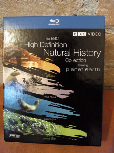 Blu-ray Bbc High Definition Natural History Collection
