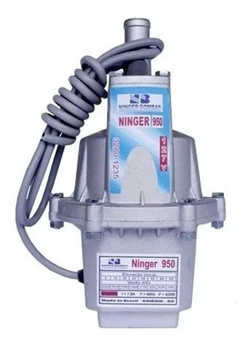 Bomba Submersa Sapo Poço/cisterna Ninger 950 220v