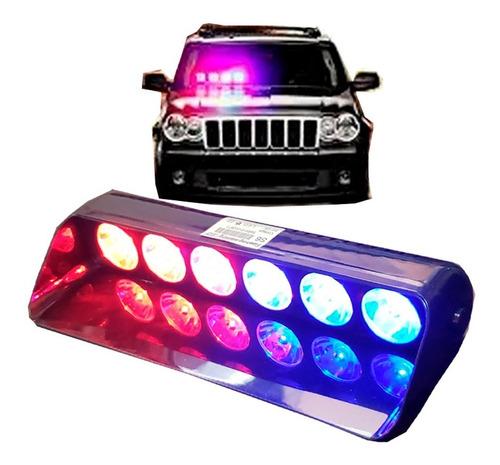 Strobo Giroflex 6 Leds Policia, Segurança, Alarme 18w