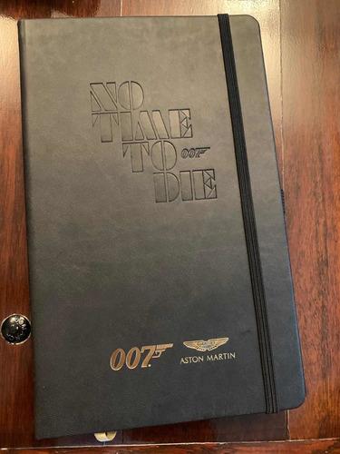 Caderno De Anotações James Bond 007 Oficial No Time To Die