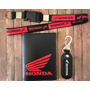 Chaveiro Honda Moto Mosquetão Cordão Porta Documentos