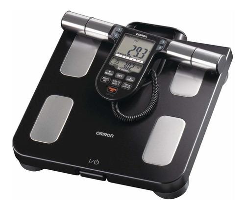Balanza Digital Omron Hbf-514c Negra, Hasta 150kg