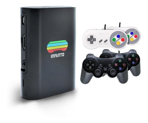 Combo Infanto 3 - Video Game Console Retrô (4 Controles)