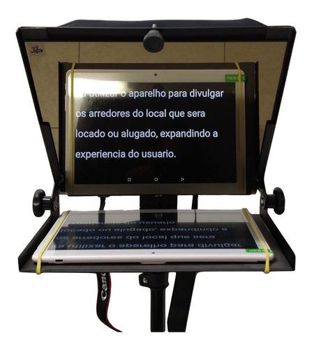Teleprompter Portátil 10, 5 P/ Tablet, Celular Tele Prompter