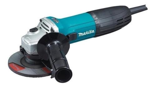 Esmerilhadeira Angular Makita Ga4530 Azul-turquesa 220v