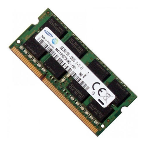 Memória Ram  8gb 1x8gb Samsung M471b1g73qh0-yk0