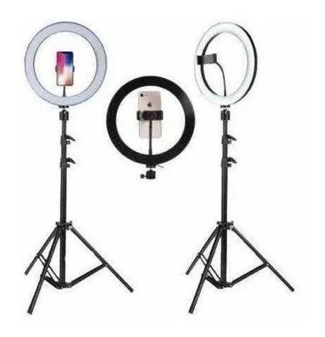 Ring Light Anel Luz 30 Cm Tripé 2, 10 Suporte Para Celular