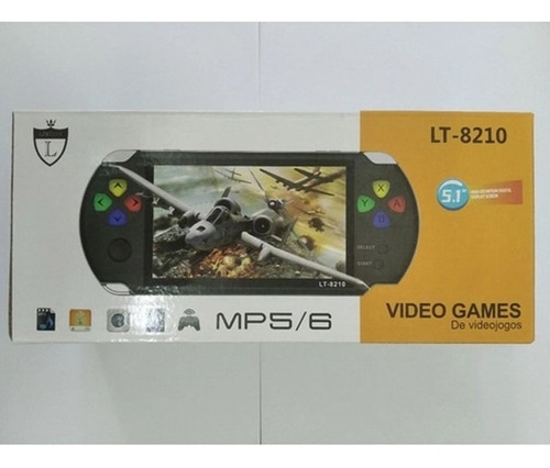 Video Game Mp5/mp6 Lintian - Lt-8210