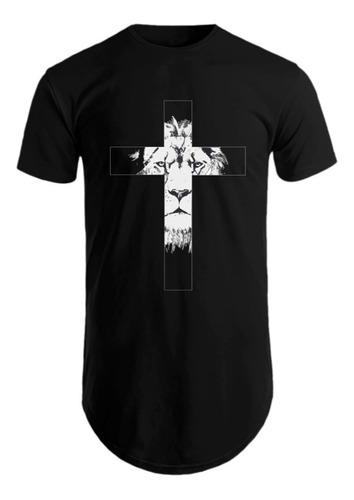 Kit C/3 Un Camisas Blusas Masculinas Estampadas Long Line