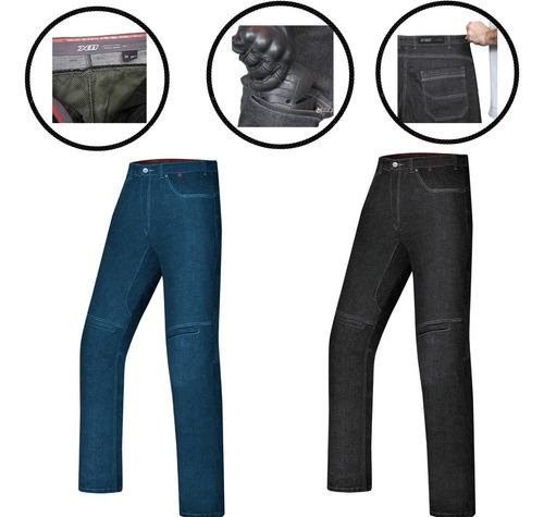Calça Masculina X11 Jeans Ride Kevlar Com Proteção Moto