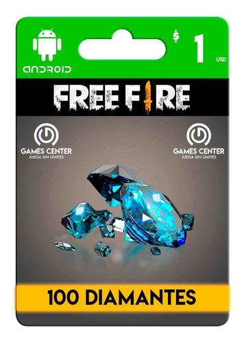 100 Diamantes  Free Fire