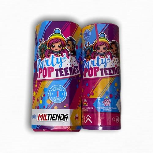 Party Pop Teenies 1 Tubo Con Sorpresa - Miltienda