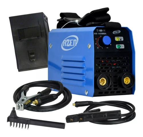 Maquina De Solda Inversora 140a 60hz 220v Mma Top Azen