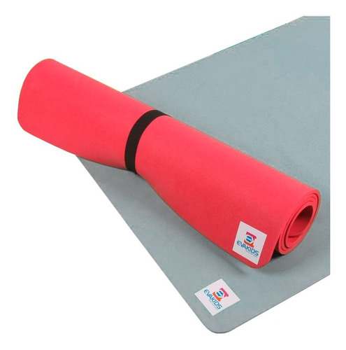 Colchonete Academia Tapete Yoga Tatame Pilates Eva 1,20x60cm
