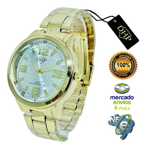 Relógio Feminino Original Dhp Aprova De Água Promoção Top S2
