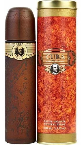 Loción Perfume Cuba Gold 100ml - mL a $390