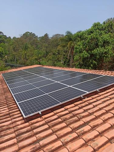Energia Solar - Completo Instalado Funcionando E Homologado