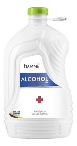 Alcohol Antiséptico Fiamme 70% Con Invima Galon 3785 Ml
