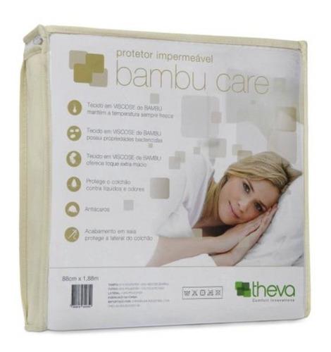 Protetor Para Colchão Copespuma Bambu Care King
