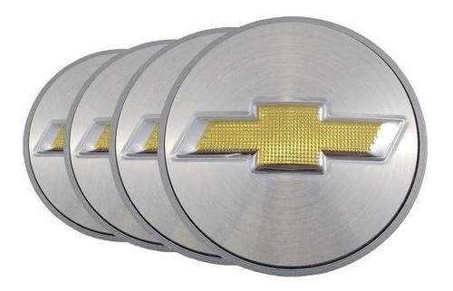 Jogo Calota Meio Centro Miolo Roda Gm Vectra Elite 58mm