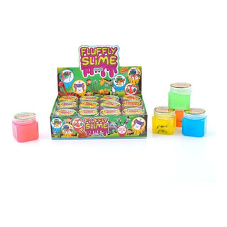 Juego Ditoys Fluffly Slime Con Animales 3d 2306