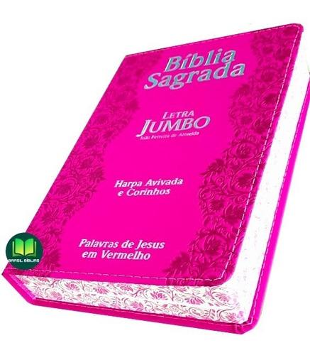 Biblia Jumbo Letra Extra Gigante Com Harpa Corrigida