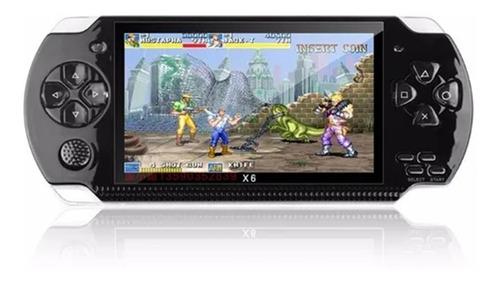 Console De Jogos Portátil Psp X6 Videogame Com 10000 Jogos
