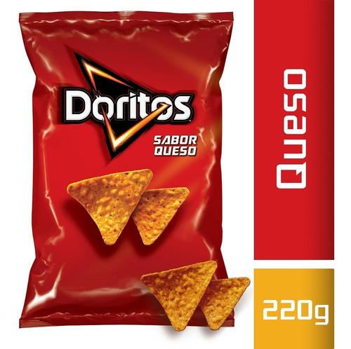 Doritos Queso 220 Gr   Snacks Pepsico Picadas Cumpleaños