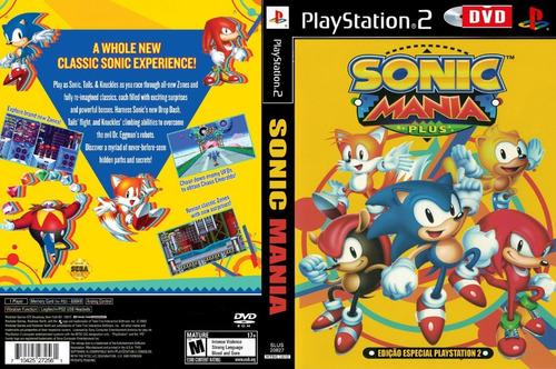 Sonic Mania - Playstation 2 - Muita Diversão Novas Fases -