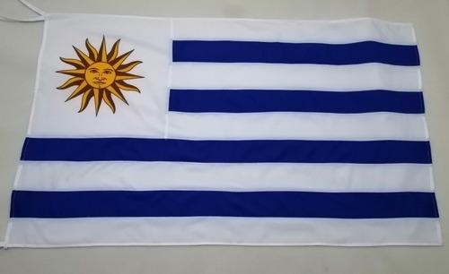 Bandera De Uruguay De Tela