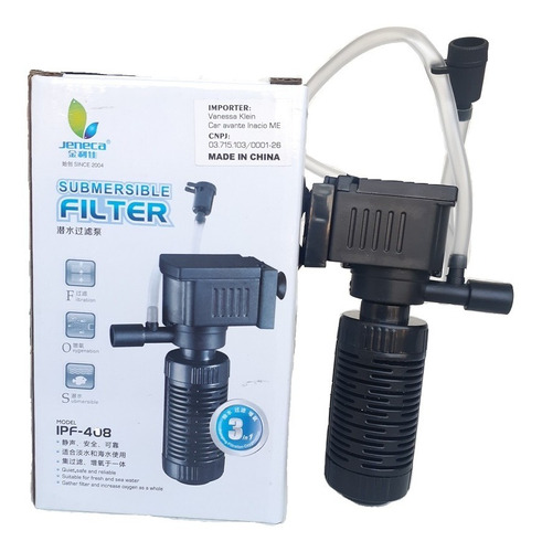 Filtro Interno Ipf 408 Aquario Pequeno 30 Litros  Aleas