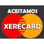 2 Adesivos Aceitamos Xerecard brinde Adesivo Cartão Crédito
