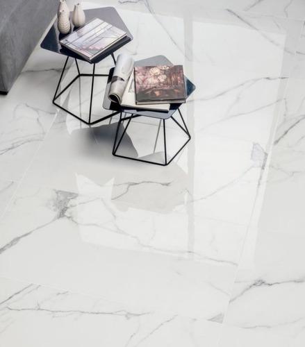 Porcelanato Blanco Statuario 120x60